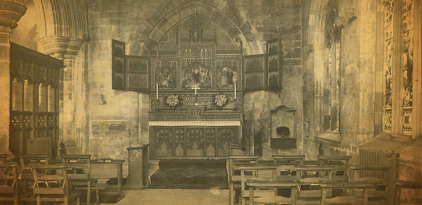 The Cotton Chapel in St. Botolph's Church Boston, Lincolnshire